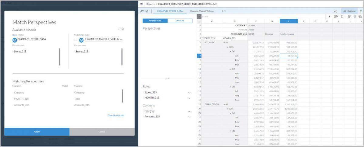 SAP Analytics Cloud - Blending